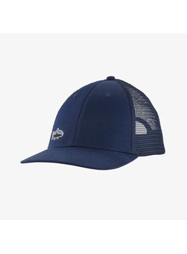 Patagonia SMALL FITZ ROY FISH LOPRO TRUCKER HAT/ NAVY