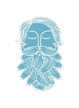 Loon Outdoors LOON BEARDED STICKER