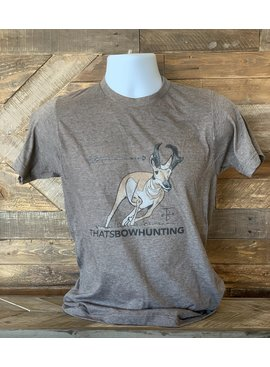 THATS BOWHUNTING THAT'S BOW HUNTING MISSED RUNNING ANTELOPE SHIRT