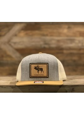 THATS BOWHUNTING THAT'S BOWHUNTING ELK FLAG PATCH TRUCKER HAT