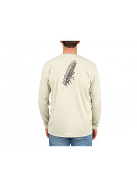 Simms Fishing Products SIMMS MEN'S CUSTOM UGLY BUG SOLAR TECH TEE LONG SLEEVE