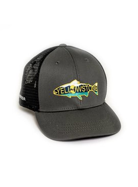 Rep Your Water REP YOUR WATER YELLOWSTONE HAT GRAY/BLK OSFM