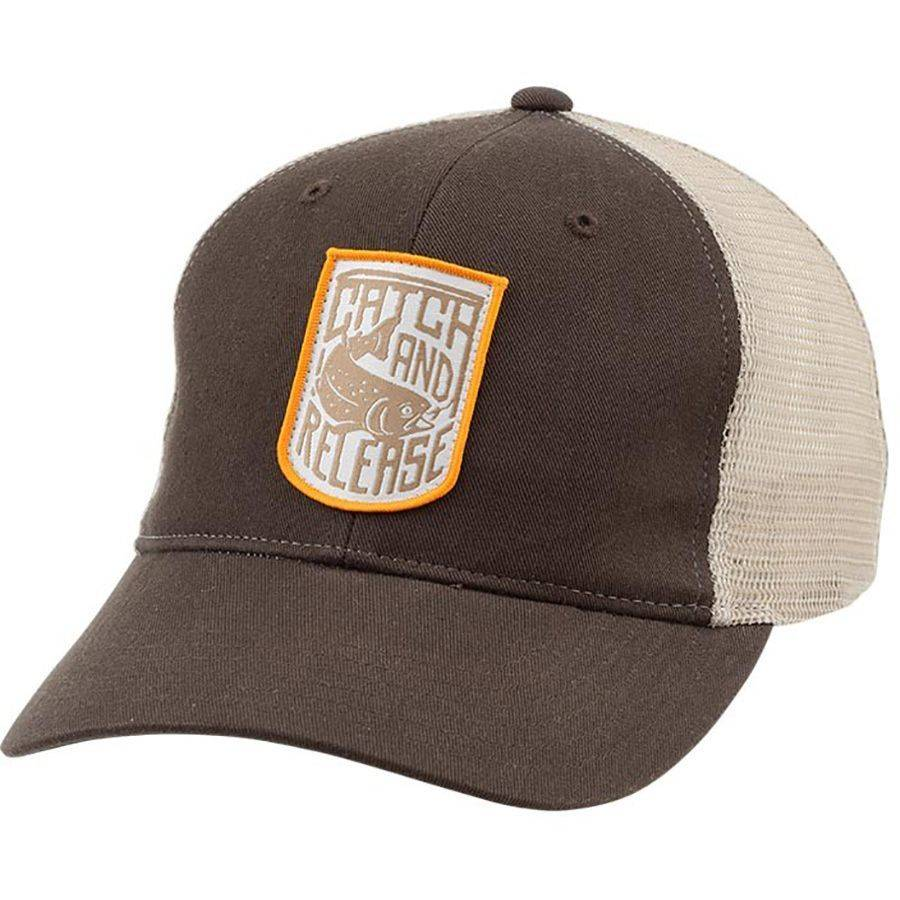 SIMMS PATCH TRUCKER HAT CATCH RELEASE - Ugly Bug Fly Shop f544081d936