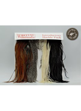 Whiting Farms Inc. WHITING INTRODUCTORY HACKLE PACK