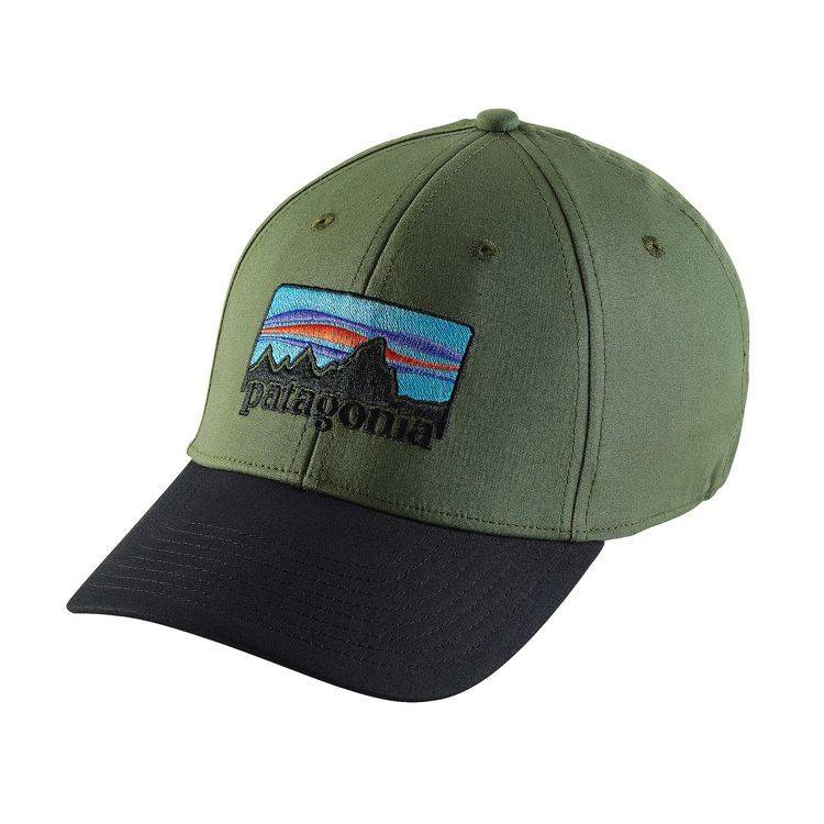 PATAGONIA  73 LOGO STRETCH FIT HAT - Ugly Bug Fly Shop 47823727c22