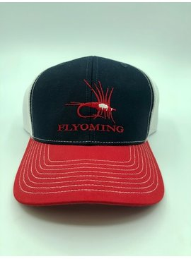 FLYOMING FLYOMING RED WHITE BLUE HAT