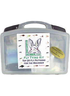 Hareline HARELINE FLY TYING MATERIAL KIT WITH PREMIUM TOOLS AND VISE