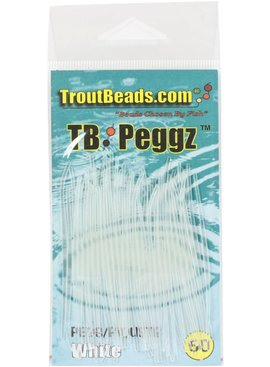 TROUT BEADS TROUT BEAD PEGGZ 50CT