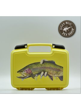 Ugly Bug Fly Shop TY HALLOCKS CATCH AND RELEASE RAINBOW PRINTED CLIFF STREAMER BOX