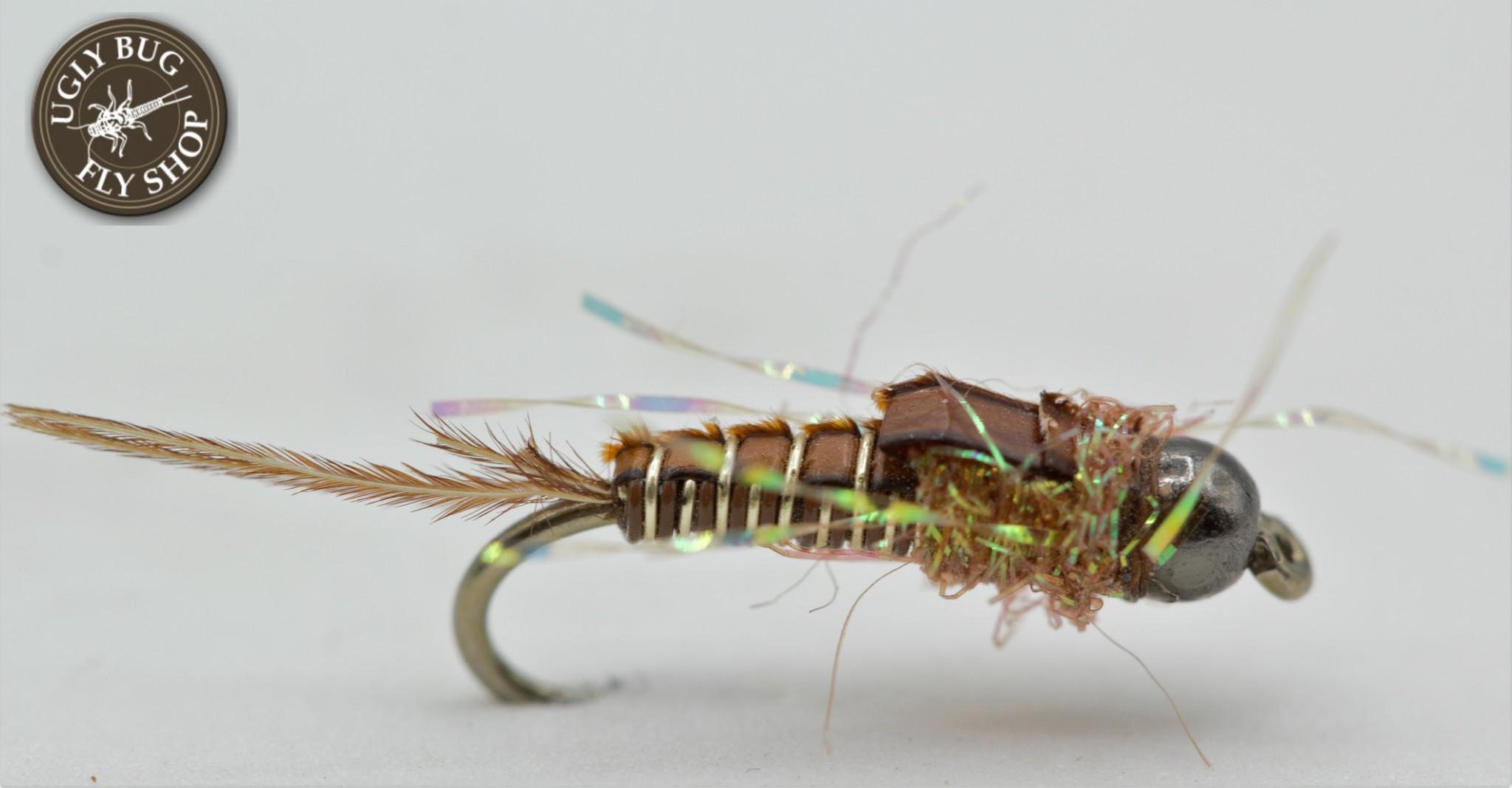 Umpqua Feather Merchants Morrish's Pickpocket Nymph - Golden Brown