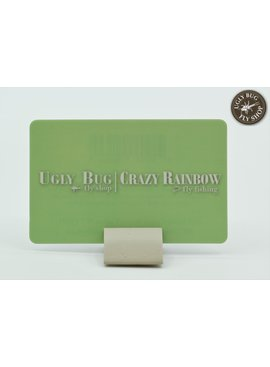 Ugly Bug Fly Shop UGLY BUG FLY SHOP / CRAZY RAINBOW FLY FISHING GIFT CARD