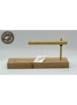 Handmade Wood Pedestal w/ Tool Caddy