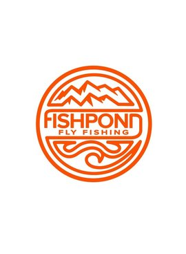 Fishpond Fishpond Thermal Die Cut Sticker-Headwaters -4.5""