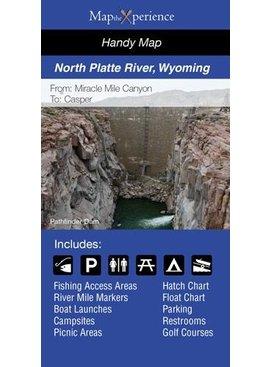 NORTH PLATTE RIVER PAPER MAP