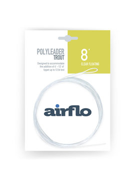 AIRFLO AIRFLO POLYLEADER TROUT CLEAR FLOATING