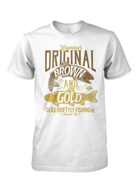 Dead Drift Dead Drift Fly Brown and Gold