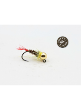 Solitude Fly Company TUNGSTEN JIG YELLOW SALLIE