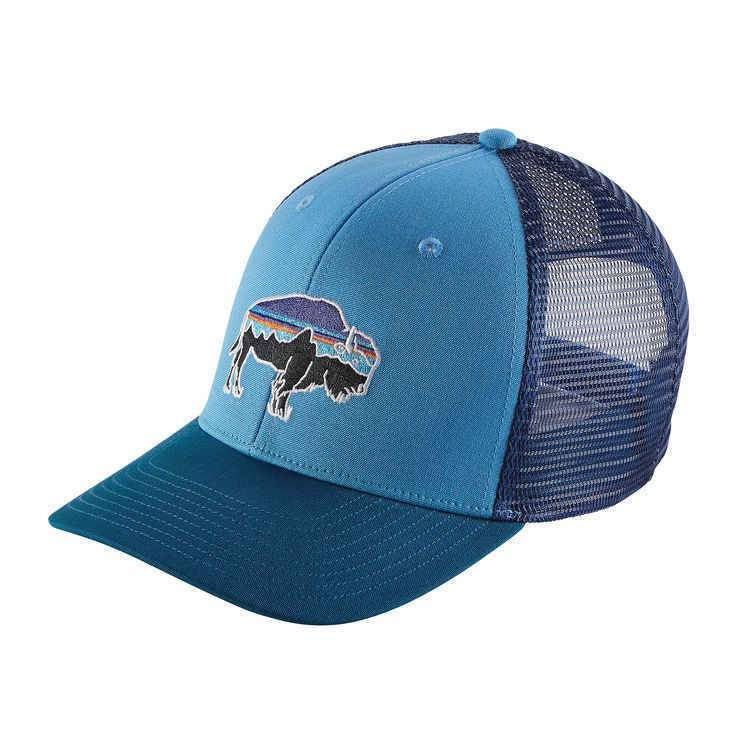 7b566aebba908 PATAGONIA FITZ BISON TRUCKER - Ugly Bug Fly Shop