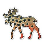 CASEY UNDERWOOD Moose Cutty Decal by Casey Underwood