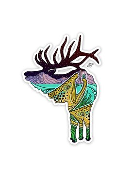 CASEY UNDERWOOD River Rut Decal by Casey Underwood