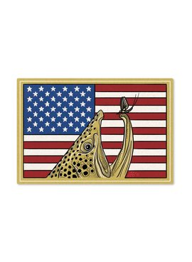 CASEY UNDERWOOD Red, White & Brown Decal by Casey Underwood