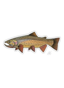 CASEY UNDERWOOD Snake River Cutty Decal by Casey Underwood