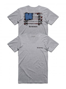 Simms Fishing Products SIMMS SLACKERTIDE USA T- SHIRT