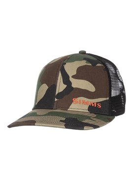 Simms Fishing Products SIMMS ID TRUCKER- WOODLAND CAMO