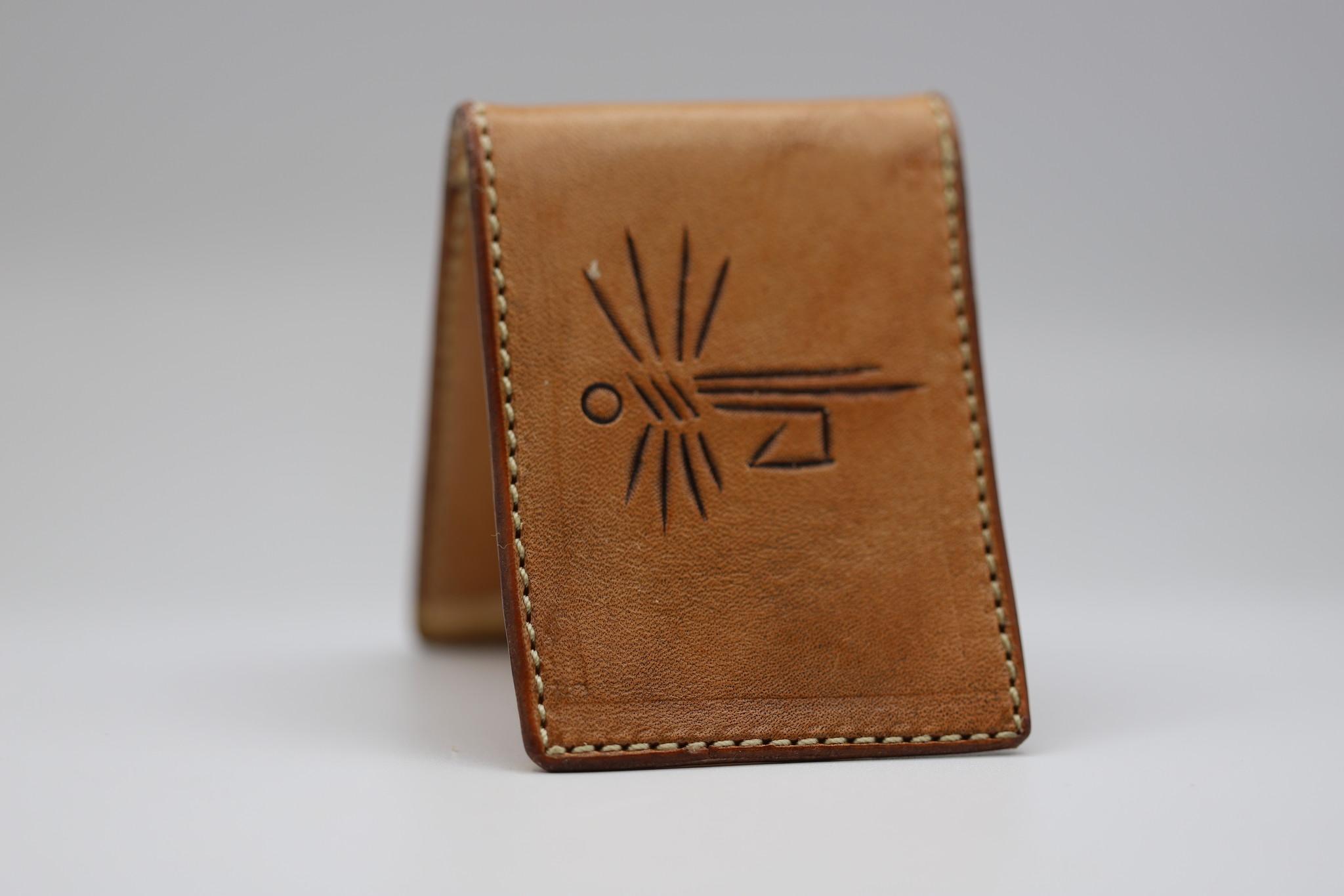 CREEDMOOR ENTERPRISES FOLD OVER MONEY CLIP CARD CASE