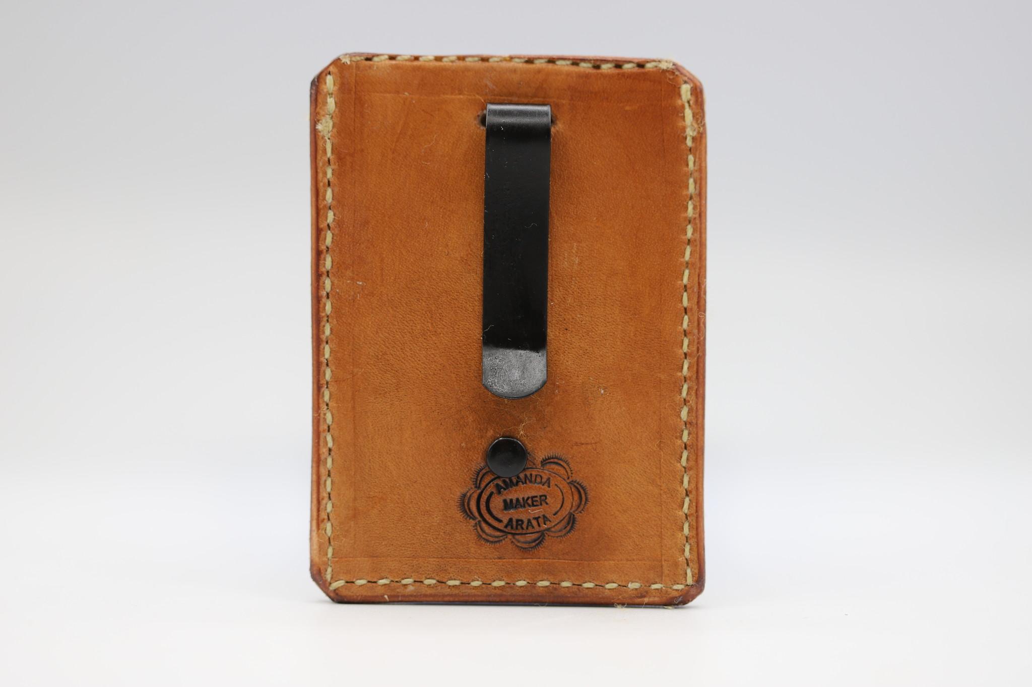 CREEDMOOR ENTERPRISES MONEY CLIP CARD CASE