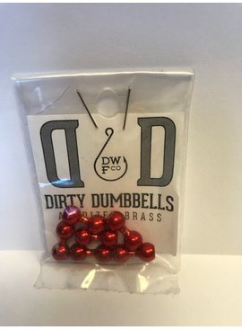 DIRTY WATER DUMBELLS ANODIZED BRASS EYES