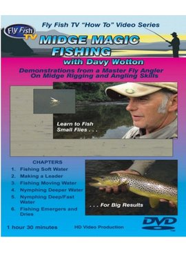 Angler's Book Supply MIDGE MAGIC FISHING AND TYING