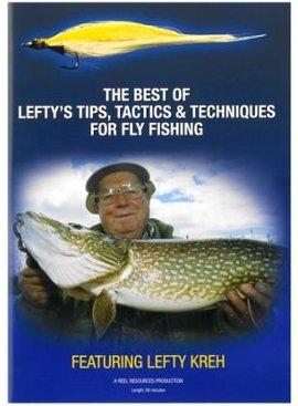 Angler's Book Supply LEFTY'S TIPS, TACTICS & TECHS DVD