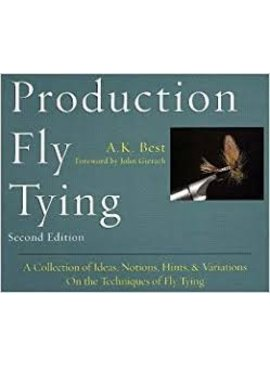 Angler's Book Supply PRODUCTION FLY TYING BY A.K. BEST