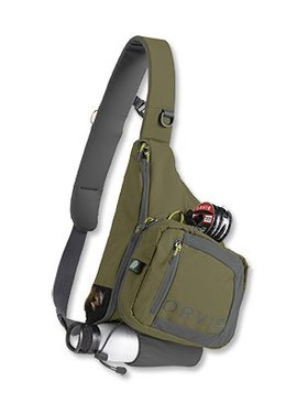 Orvis Company ORVIS SAFE PASSAGE SLING PACK OLIVE GREEN