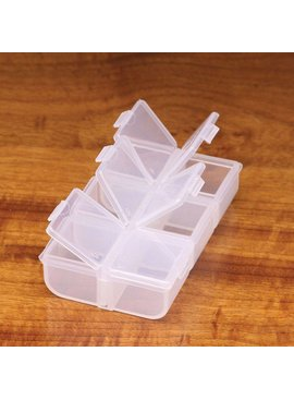 Hareline Dubbin FLIP CAP 6 COMPARTMENT BOX