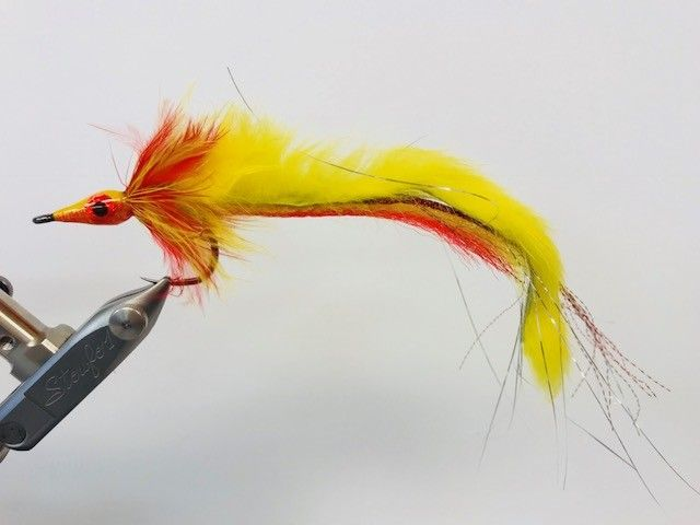 GEN X PIKE BUNNY RED/ YELLOW 3/0