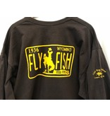 Ugly Bug Fly Shop WYOMING LIC PLATE T SHIRTS LS