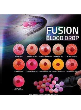 Hareline Dubbin SPIRIT RIVER UV2 BLOOD DROP EGG 6MM