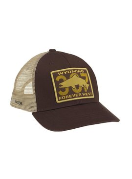Simms Wyoming Patch Trucker - Ugly Bug Fly Shop