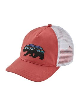 Patagonia PATAGONIA W'S FITZ ROY BEAR LAYBACK TRUCKER HAT