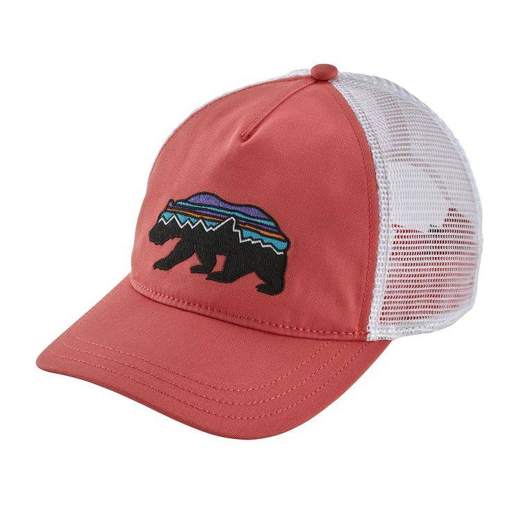 db692f332 PATAGONIA W'S FITZ ROY BEAR LAYBACK TRUCKER HAT