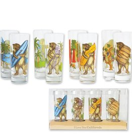 California Bear, Set of 4 Shooters