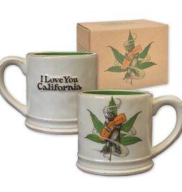 Cannabis CA Bear Hug Ceramic Mug