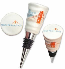 SF Fog Bottle Stopper