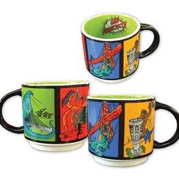 Monster Invasion Mug (Sale 75% off, was $5.50)