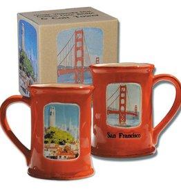 Golden Gate Bridge & Coit Tower Mug
