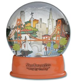 The City Fog Dome (Water Globe)