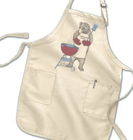 California Grillin' Bear Apron