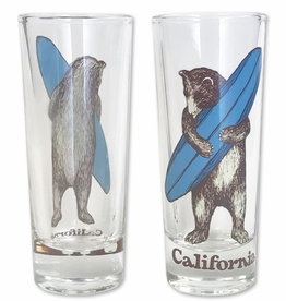 Surf Bear Shooter Glass